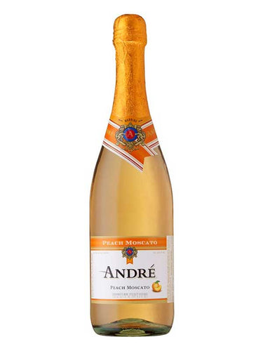Andre Peach (Moscato) Champagne 750mL Type: Champagne & Sparkling Categories: 750mL, California, Champagne, quantity high enough for online, region_California, size_750mL, subtype_Champagne. Buy today at Wine and Liquor Mart Poughkeepsie