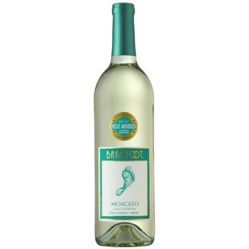 Barefoot Moscato Wine - 750mL Type: White Categories: 750mL, California, Moscato, quantity high enough for online, region_California, size_750mL, subtype_Moscato. Buy today at Wine and Liquor Mart Poughkeepsie