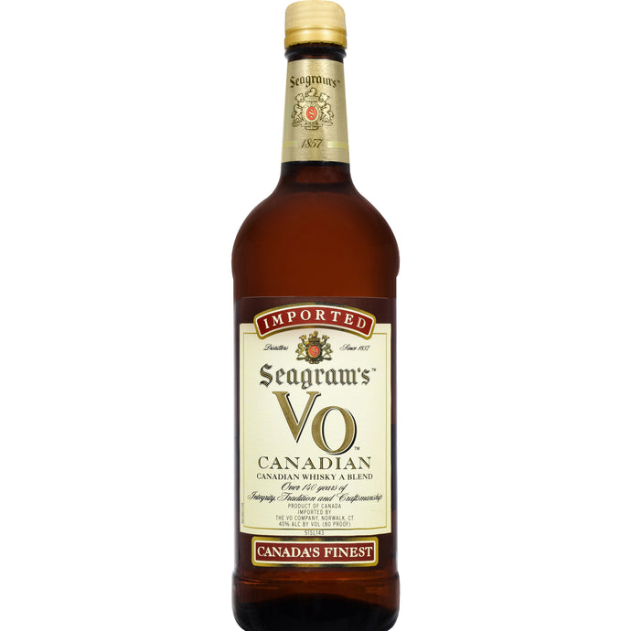 Seagrams V.o. Canadian Whisky 1.0l Type: Liquor Categories: 1L, quantity high enough for online, size_1L, subtype_Whiskey, Whiskey. Buy today at Wine and Liquor Mart Poughkeepsie