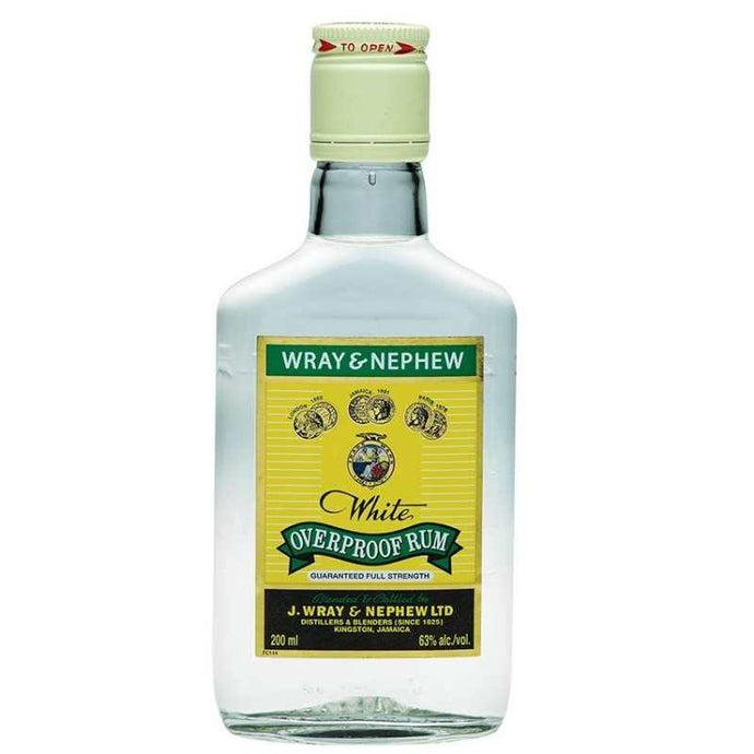 Wray & Nephew White Overproof Rum 200mL Type: Liquor Categories: 200mL, quantity high enough for online, Rum, size_200mL, subtype_Rum. Buy today at Wine and Liquor Mart Poughkeepsie