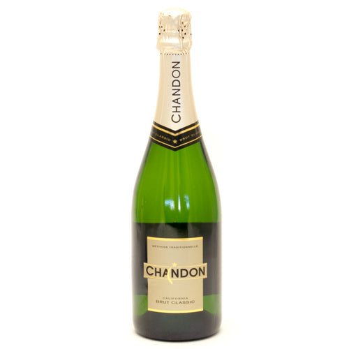 Chandon California Brut Classic Champagne 750 ml Type: Champagne & Sparkling Categories: 750mL, California, Champagne & Sparkling Wine, quantity high enough for online, region_California, size_750mL, subtype_Champagne & Sparkling Wine. Buy today at Wine and Liquor Mart Poughkeepsie