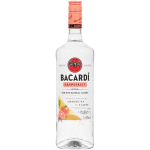 Bacardi Grapefruit Rum 1L Type: Liquor Categories: 1L, Flavored, Rum, size_1L, subtype_Flavored, subtype_Rum. Buy today at Wine and Liquor Mart Poughkeepsie