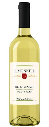 Simonetti Pinot Grigio 1.5L Type: White Categories: 1.5L, Italy, Pinot Grigio, quantity high enough for online, region_Italy, size_1.5L, subtype_Pinot Grigio. Buy today at Wine and Liquor Mart Poughkeepsie