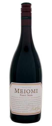 Meiomi Pinot Noir 750mL Type: Red Categories: 750mL, California, Pinot Noir, quantity high enough for online, region_California, size_750mL, subtype_Pinot Noir. Buy today at Wine and Liquor Mart Poughkeepsie