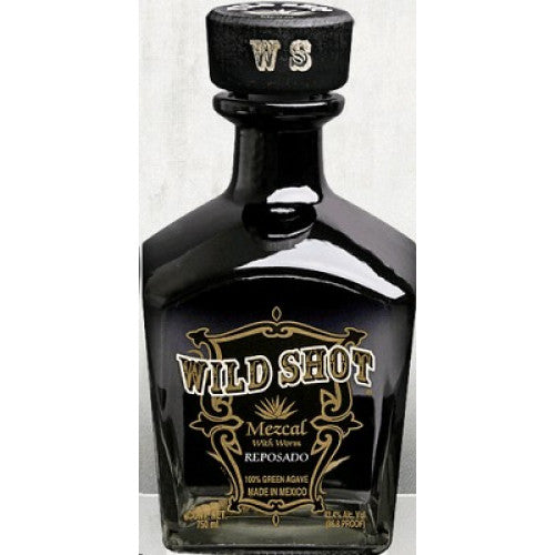 Wild Shot Mezcal 750mL Type: Liquor Categories: 750mL, Mezcal, quantity high enough for online, size_750mL, subtype_Mezcal. Buy today at Wine and Liquor Mart Poughkeepsie