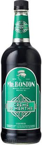 Mr. Boston Creme de Menthe Green 1 L Type: Liquor Categories: 1L, Liqueur, quantity high enough for online, size_1L, subtype_Liqueur. Buy today at Wine and Liquor Mart Poughkeepsie