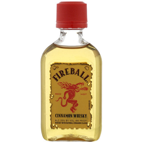 Fireball Cinnamon Whiskey 50 mL Type: Liquor Categories: 50mL, Flavored, size_50mL, subtype_Flavored, subtype_Whiskey, Whiskey. Buy today at Wine and Liquor Mart Poughkeepsie