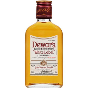 "Dewar's® ""White Label"" Blended Scotch Whisky 200mL Type: Liquor Categories: 200mL, quantity high enough for online, Scotch, size_200mL, subtype_Scotch, subtype_Whiskey, Whiskey. Buy today at Wine and Liquor Mart Poughkeepsie"