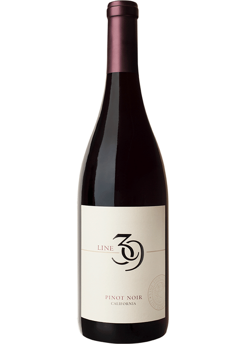 Line 39 Pinot Noir 750mL Type: Red Categories: 750mL, California, Pinot Noir, quantity high enough for online, region_California, size_750mL, subtype_Pinot Noir. Buy today at Wine and Liquor Mart Poughkeepsie