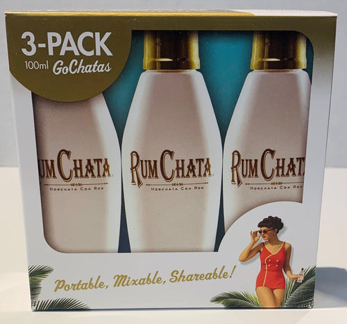 RumChata Rum Liqueur 3pk 100mL Type: Liquor Categories: 100mL, Liqueur, size_100mL, subtype_Liqueur. Buy today at Wine and Liquor Mart Poughkeepsie