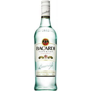 Bacardi Superior 750mL Type: Liquor Categories: 750mL, quantity high enough for online, Rum, size_750mL, subtype_Rum. Buy today at Wine and Liquor Mart Poughkeepsie