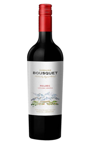 Domaine Jean Bousquet Organic Malbec 750mL Type: Red Categories: 750mL, Argentina, Malbec, quantity high enough for online, region_Argentina, size_750mL, subtype_Malbec. Buy today at Wine and Liquor Mart Poughkeepsie