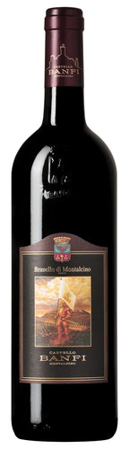Castello Banfi Brunello Di Montalcino 2004 750mL Type: Red Categories: 750mL, Brunello, Italy, region_Italy, Sangiovese, size_750mL, subtype_Brunello, subtype_Sangiovese. Buy today at Wine and Liquor Mart Poughkeepsie