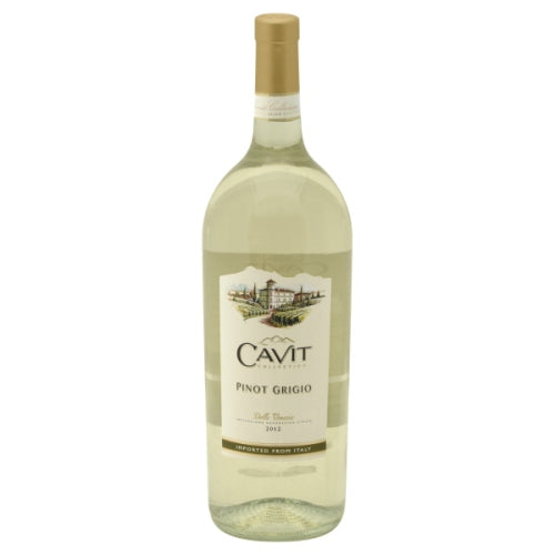 Cavit Collection - Delle Venezie Pinot Grigio 1.5L Type: White Categories: 1.5L, Italy, Pinot Grigio, region_Italy, size_1.5L, subtype_Pinot Grigio. Buy today at Wine and Liquor Mart Poughkeepsie