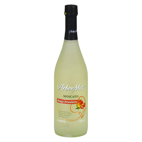Arbor Mist Mango Strawberry Moscato 750mL Type: Pink Categories: 750mL, Flavored, Moscato, New York, region_New York, size_750mL, subtype_Flavored, subtype_Moscato. Buy today at Wine and Liquor Mart Poughkeepsie