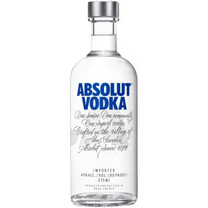 Absolut® Vodka 200mL Type: Liquor Categories: 200mL, quantity high enough for online, size_200mL, subtype_Vodka, Vodka. Buy today at Wine and Liquor Mart Poughkeepsie