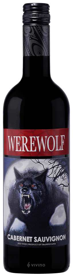 Werewolf Cabernet Sauvignon 750mL Type: Red Categories: 750mL, Cabernet Sauvignon, quantity high enough for online, size_750mL, subtype_Cabernet Sauvignon. Buy today at Wine and Liquor Mart Poughkeepsie