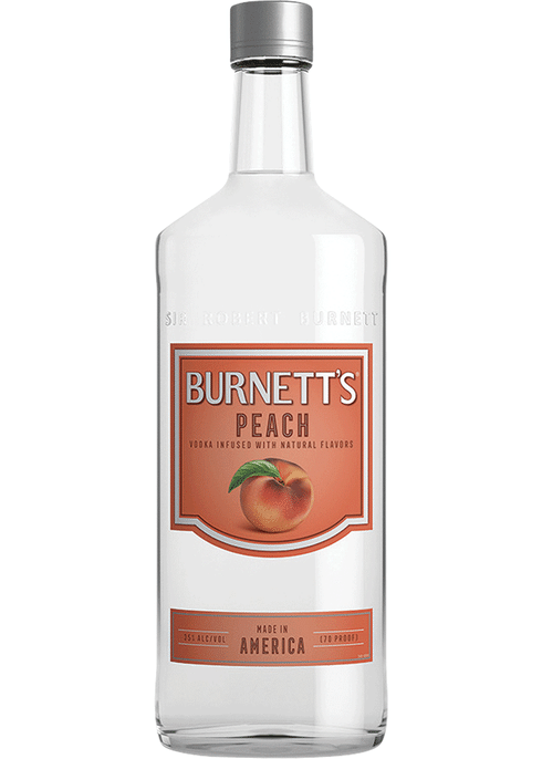 Burnetts Peach Vodka 1L Type: Liquor Categories: 1L, Flavored, size_1L, subtype_Flavored, subtype_Vodka, Vodka. Buy today at Wine and Liquor Mart Poughkeepsie
