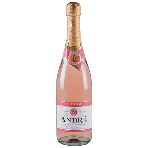 André Brut Rose 750 mL Bottle Type: Pink Categories: 750mL, California, Champagne & Sparkling Wine, quantity high enough for online, region_California, size_750mL, subtype_Champagne & Sparkling Wine. Buy today at Wine and Liquor Mart Poughkeepsie