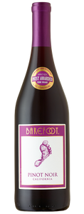Barefoot Pinot Noir - 750mL Type: Red Categories: 750mL, California, Pinot Noir, quantity high enough for online, region_California, size_750mL, subtype_Pinot Noir. Buy today at Wine and Liquor Mart Poughkeepsie