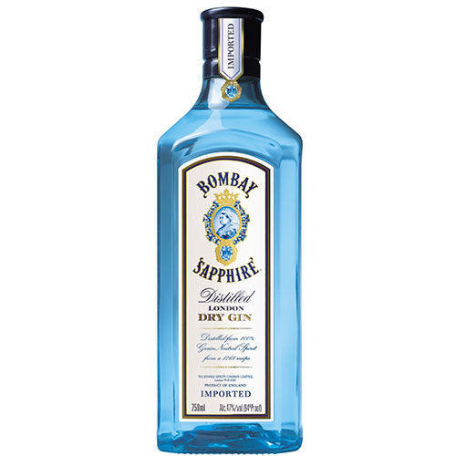 Bombay Sapphire Distilled London Dry Gin 750 mL Type: Liquor Categories: 750mL, Gin, quantity high enough for online, size_750mL, subtype_Gin. Buy today at Wine and Liquor Mart Poughkeepsie
