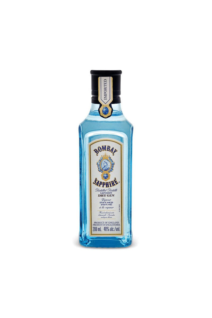 Bombay Sapphire Gin 200mL Type: Liquor Categories: 200mL, Gin, quantity high enough for online, size_200mL, subtype_Gin. Buy today at Wine and Liquor Mart Poughkeepsie