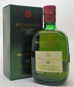 James Buchanans 12 year Deluxe Blended Scotch Whisky - 750ml Bottle Type: Liquor Categories: 750mL, quantity high enough for online, Scotch, size_750mL, subtype_Scotch, subtype_Whiskey, Whiskey. Buy today at Wine and Liquor Mart Poughkeepsie