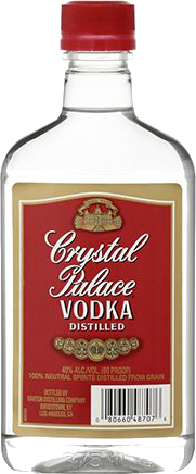 Crystal Palace Vodka 375ml Type: Liquor Categories: 375mL, quantity high enough for online, size_375mL, subtype_Vodka, Vodka. Buy today at Wine and Liquor Mart Poughkeepsie