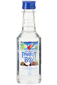 Parrot Bay Coconut Rum 90Proof 50 mL Type: Liquor Categories: 50mL, Flavored, quantity high enough for online, Rum, size_50mL, subtype_Flavored, subtype_Rum. Buy today at Wine and Liquor Mart Poughkeepsie