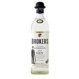Brokers London Dry Gin 1L Type: Liquor Categories: 1L, Gin, size_1L, subtype_Gin. Buy today at Wine and Liquor Mart Poughkeepsie
