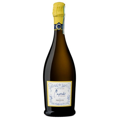 Cupcake Prosecco Sparkling White Wine - 750ml Bottle Type: Champagne & Sparkling Categories: 750mL, Italy, Prosecco, quantity high enough for online, region_Italy, size_750mL, subtype_Prosecco. Buy today at Wine and Liquor Mart Poughkeepsie