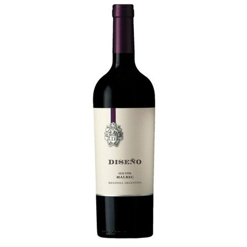 Diseno Malbec Red 2018 750mL Type: Red Categories: 750mL, Argentina, Malbec, quantity high enough for online, region_Argentina, size_750mL, subtype_Malbec. Buy today at Wine and Liquor Mart Poughkeepsie