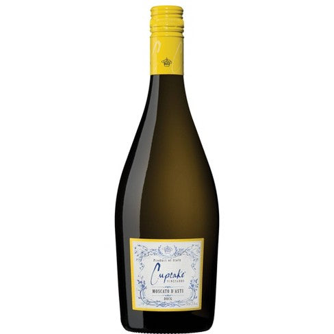 Cupcake Moscato D'Asti White Wine - 750ml Bottle Type: White Categories: 750mL, Champagne & Sparkling Wine, Italy, Moscato, quantity high enough for online, region_Italy, size_750mL, subtype_Champagne & Sparkling Wine, subtype_Moscato. Buy today at Wine and Liquor Mart Poughkeepsie