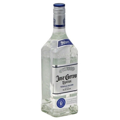 Jose Cuervo Especial Silver Tequila - 750ml Bottle Type: Liquor Categories: 750mL, quantity high enough for online, size_750mL, subtype_Tequila, Tequila. Buy today at Wine and Liquor Mart Poughkeepsie