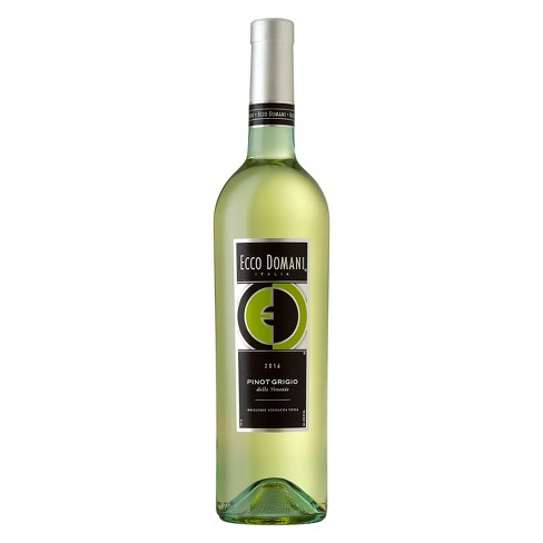 Ecco Domani - Pinot Grigio 750mL Type: White Categories: 750mL, Italy, Pinot Grigio, quantity high enough for online, region_Italy, size_750mL, subtype_Pinot Grigio. Buy today at Wine and Liquor Mart Poughkeepsie