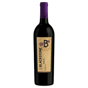 Blackstone Merlot Red Wine - 750ml Bottle Type: Red Categories: 750mL, California, Merlot, quantity high enough for online, region_California, size_750mL, subtype_Merlot. Buy today at Wine and Liquor Mart Poughkeepsie