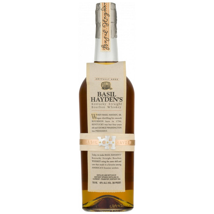Basil Hayden's Kentucky Straight Bourbon 750mL Type: Liquor Categories: 750mL, Bourbon, quantity high enough for online, size_750mL, subtype_Bourbon, subtype_Whiskey, Whiskey. Buy today at Wine and Liquor Mart Poughkeepsie