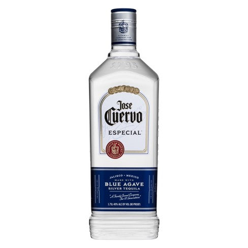 Jose Cuervo Especial Silver Tequila - 1.75L Bottle Type: Liquor Categories: 1.75L, size_1.75L, subtype_Tequila, Tequila. Buy today at Wine and Liquor Mart Poughkeepsie