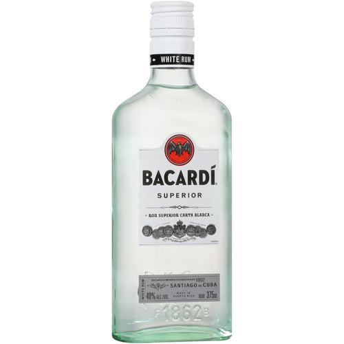 Bacardi Superior Rum 375mL Type: Liquor Categories: 375mL, Rum, size_375mL, subtype_Rum. Buy today at Wine and Liquor Mart Poughkeepsie
