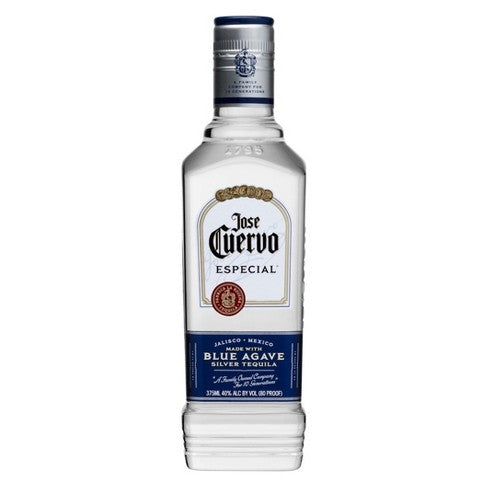 Jose Cuervo Silver Tequila 375mL Type: Liquor Categories: 375mL, size_375mL, subtype_Tequila, Tequila. Buy today at Wine and Liquor Mart Poughkeepsie