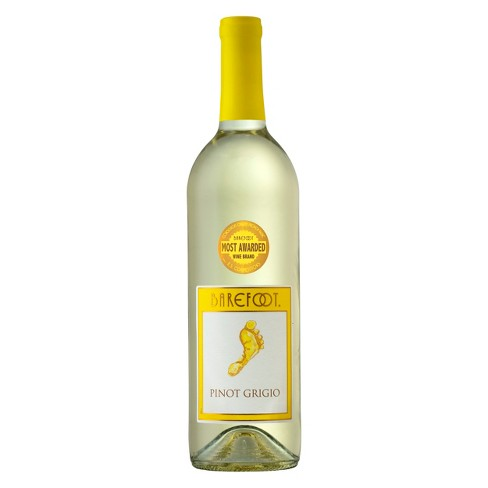 Barefoot Pinot Grigio - 750mL Type: White Categories: 750mL, California, Pinot Grigio, quantity high enough for online, region_California, size_750mL, subtype_Pinot Grigio. Buy today at Wine and Liquor Mart Poughkeepsie