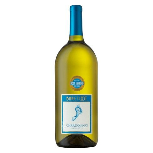 Barefoot Chardonnay - 1.5L Type: White Categories: 1.5L, California, Chardonnay, quantity high enough for online, region_California, size_1.5L, subtype_Chardonnay. Buy today at Wine and Liquor Mart Poughkeepsie