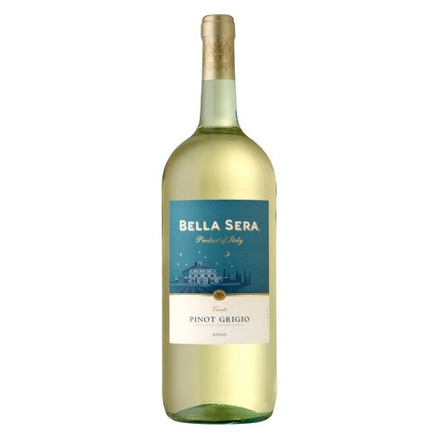 Bella Sera Pinot Grigio - 1.5L Type: White Categories: 1.5L, Italy, Pinot Grigio, region_Italy, size_1.5L, subtype_Pinot Grigio. Buy today at Wine and Liquor Mart Poughkeepsie