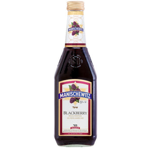 Manischewitz - Blackberry Wine 750mL Type: Red Categories: 750mL, New York, quantity high enough for online, Red Blend, region_New York, size_750mL, subtype_Red Blend. Buy today at Wine and Liquor Mart Poughkeepsie