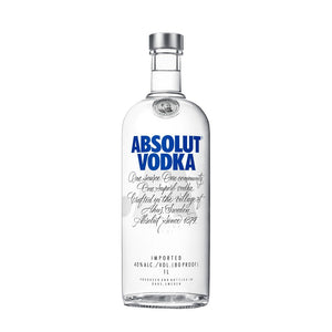 Absolut Vodka 1L Type: Liquor Categories: 1L, quantity high enough for online, size_1L, subtype_Vodka, Vodka. Buy today at Wine and Liquor Mart Poughkeepsie