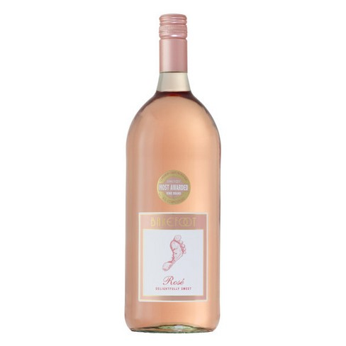 Barefoot Rosé Wine - 1.5L Type: Pink Categories: 1.5L, California, quantity high enough for online, region_California, Rosé, size_1.5L, subtype_Rosé. Buy today at Wine and Liquor Mart Poughkeepsie