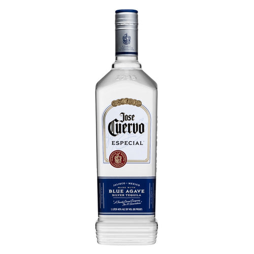 Jose Cuervo Silver Tequila - 1L Bottle Type: Liquor Categories: 1L, quantity high enough for online, size_1L, subtype_Tequila, Tequila. Buy today at Wine and Liquor Mart Poughkeepsie