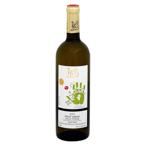 Kris Pinot Grigio White Wine - 750ml Bottle Type: White Categories: 750mL, Italy, Pinot Grigio, quantity high enough for online, region_Italy, size_750mL, subtype_Pinot Grigio. Buy today at Wine and Liquor Mart Poughkeepsie