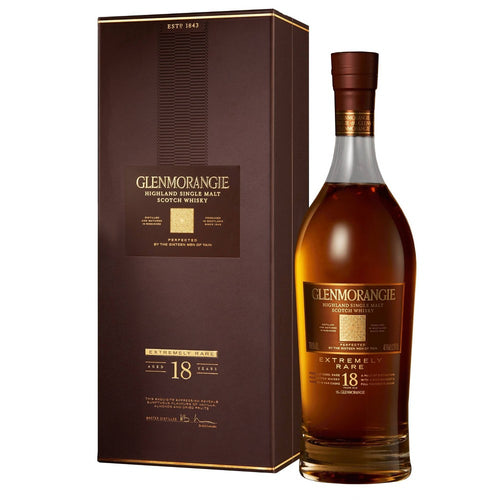 Glenmorangie 18 Year Extremely Rare Single Malt Scotch Whisky 750mL Type: Liquor Categories: 750mL, quantity exception rare, Scotch, size_750mL, subtype_Scotch, subtype_Whiskey, Whiskey. Buy today at Wine and Liquor Mart Poughkeepsie