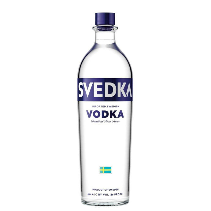 SVEDKA Imported Swedish Vodka  1L Type: Liquor Categories: 1L, quantity high enough for online, size_1L, subtype_Vodka, Vodka. Buy today at Wine and Liquor Mart Poughkeepsie